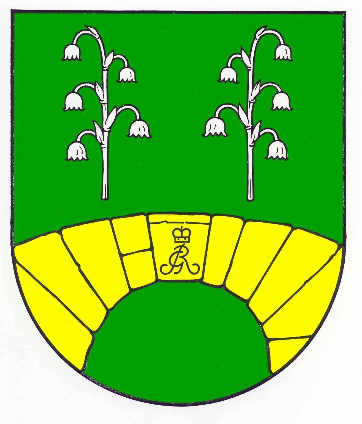 Wappen GemeindeEscheburg, Kreis Herzogtum Lauenburg