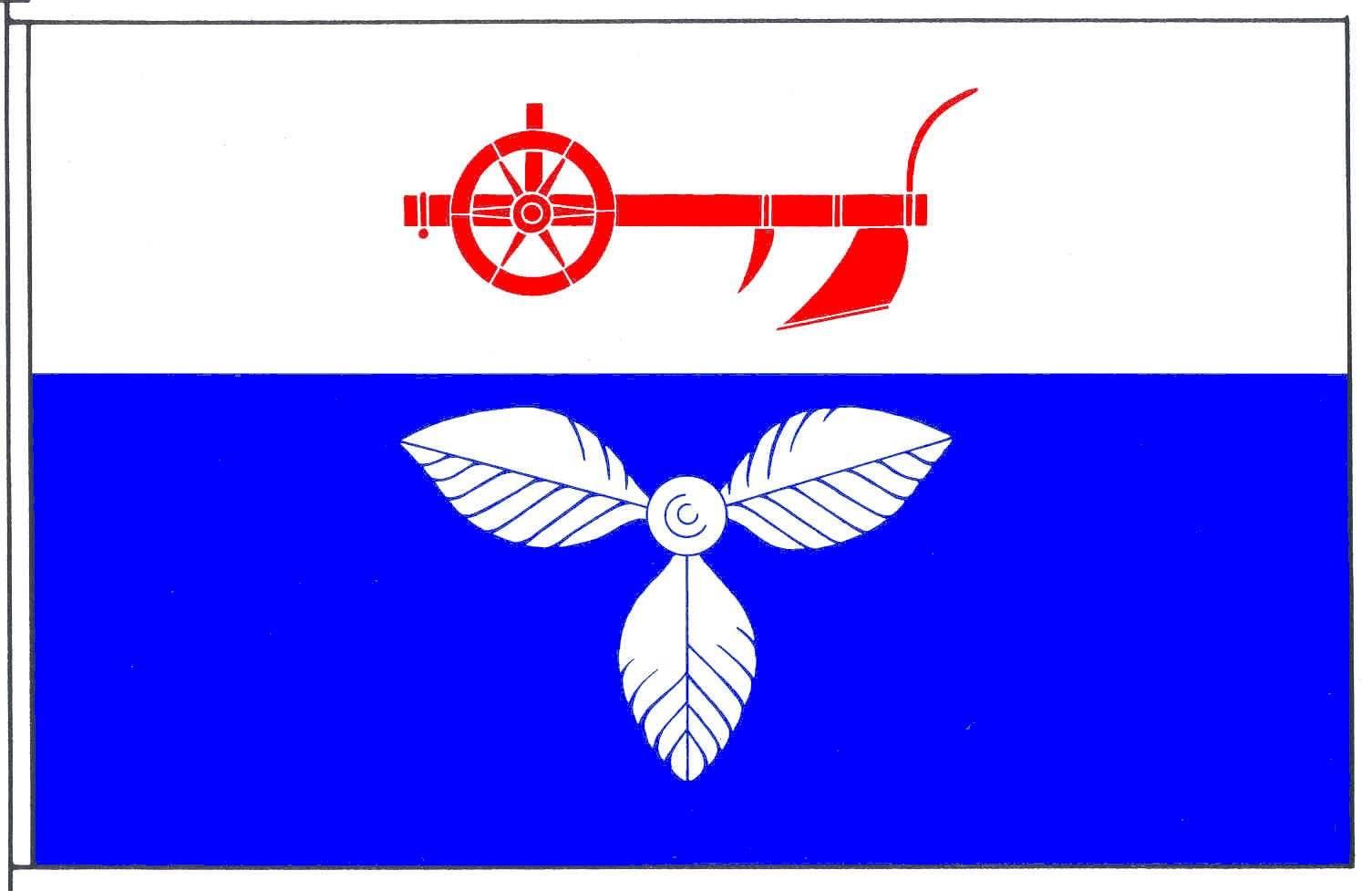 Flagge GemeindeFelde, Kreis Rendsburg-Eckernförde