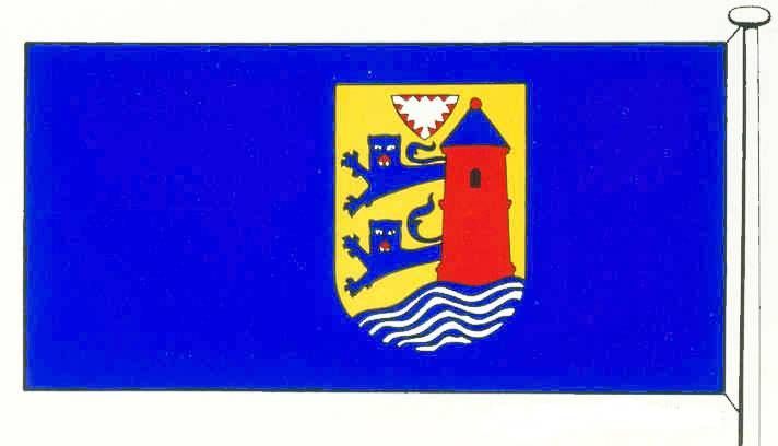 Flagge kreisfreie StadtFlensburg
