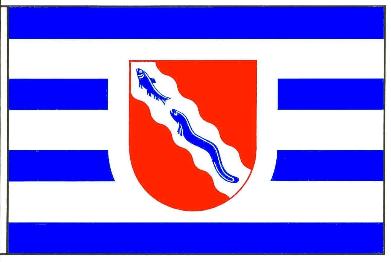Flagge GemeindeFockbek, Kreis Rendsburg-Eckernförde