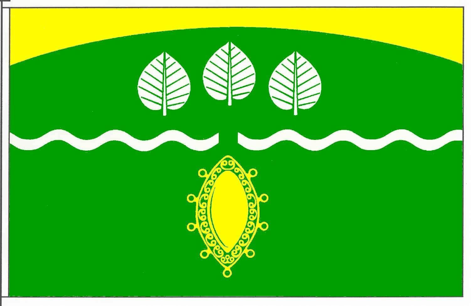 Flagge GemeindeFöhrden-Barl, Kreis Segeberg