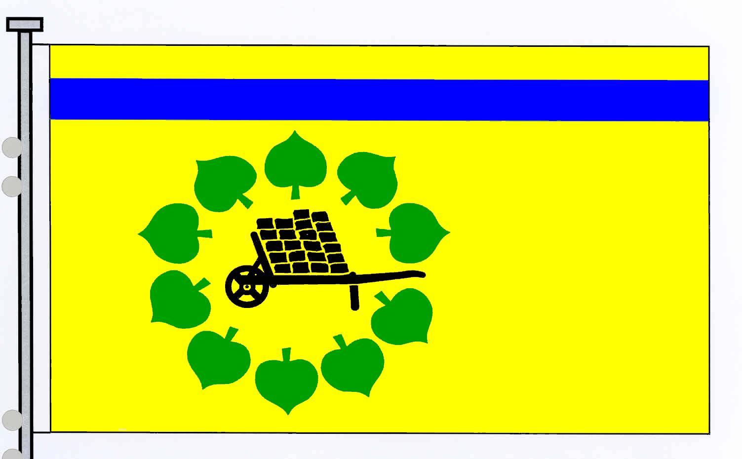 Flagge GemeindeFredesdorf, Kreis Segeberg