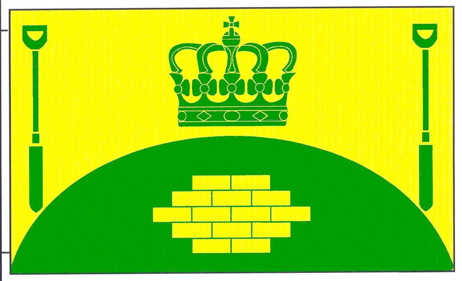 Flagge GemeindeFriedrichsholm, Kreis Rendsburg-Eckernförde