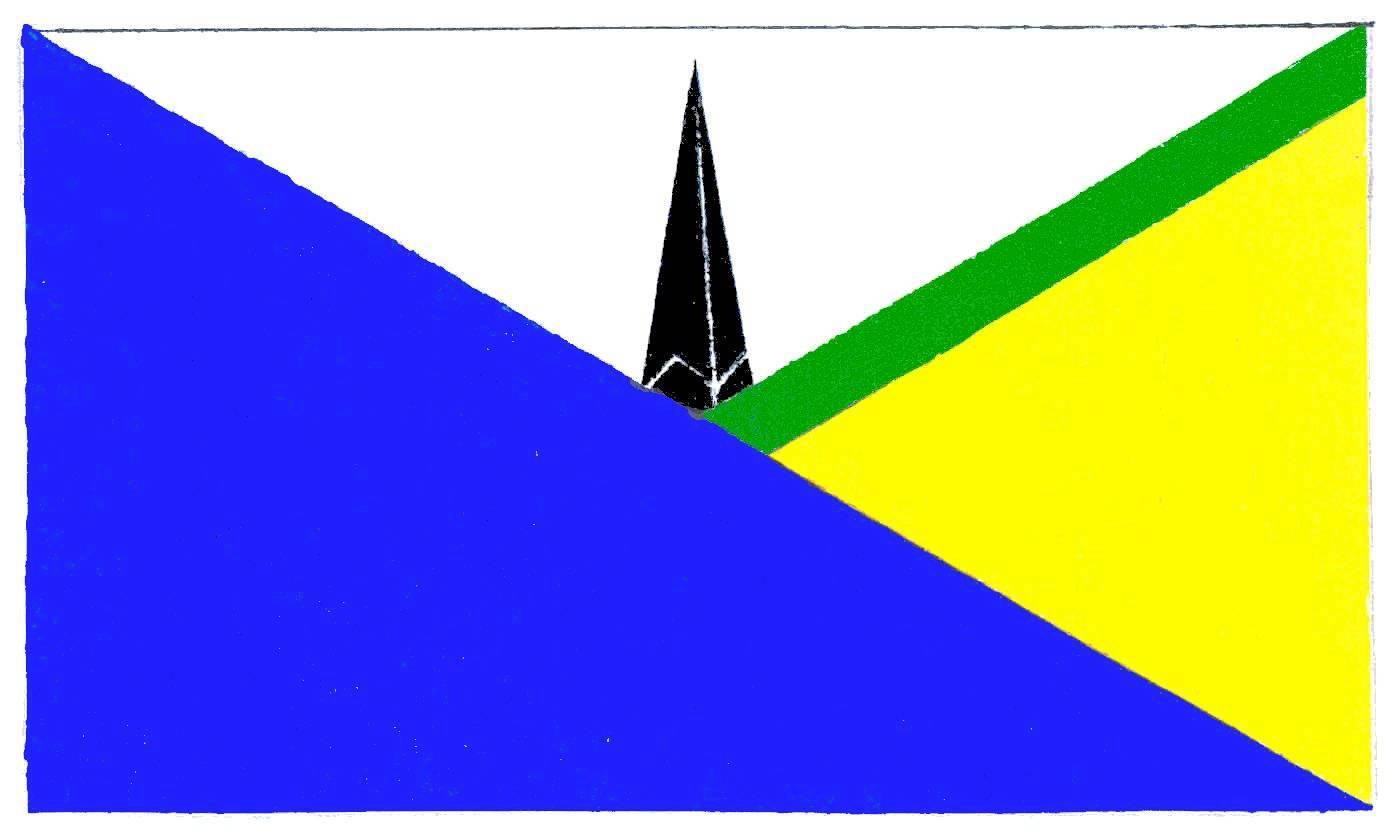 Flagge GemeindeGalmsbüll, Kreis Nordfriesland