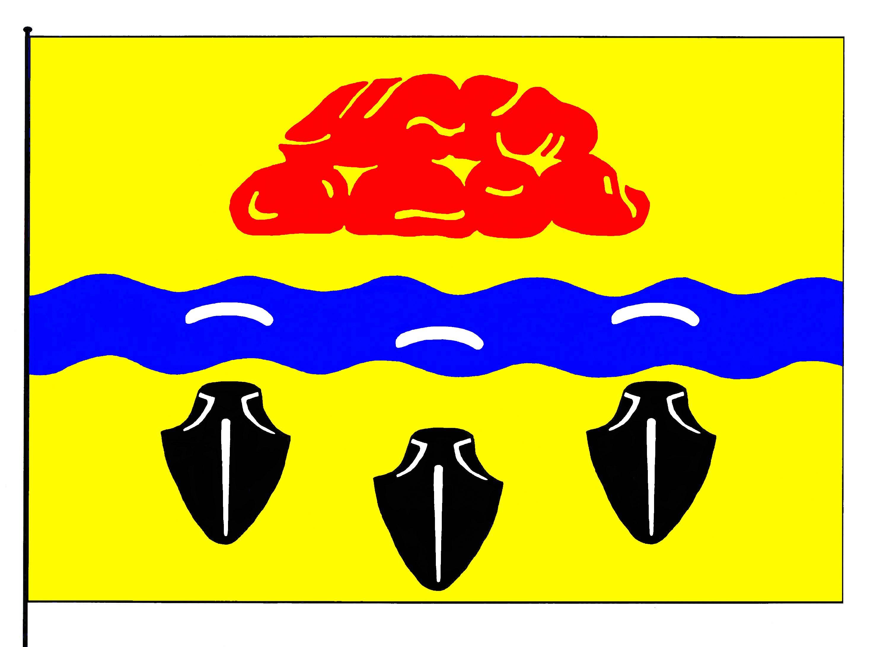Flagge GemeindeGammelby, Kreis Rendsburg-Eckernförde