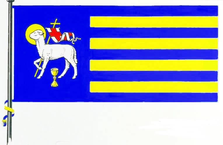 Flagge StadtGarding, Kreis Nordfriesland