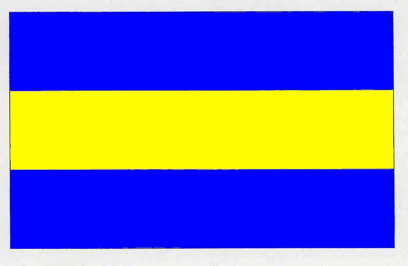 Flagge GemeindeGelting, Kreis Schleswig-Flensburg