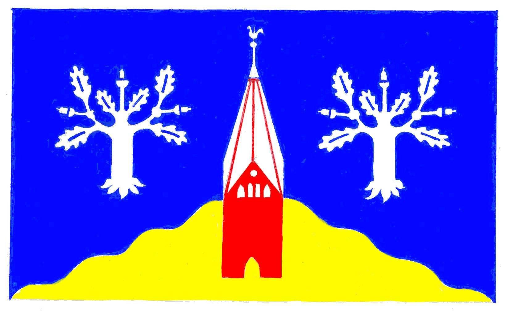 Flagge GemeindeGettorf, Kreis Rendsburg-Eckernförde