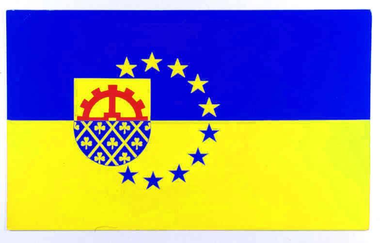 Flagge StadtGlinde, Kreis Stormarn