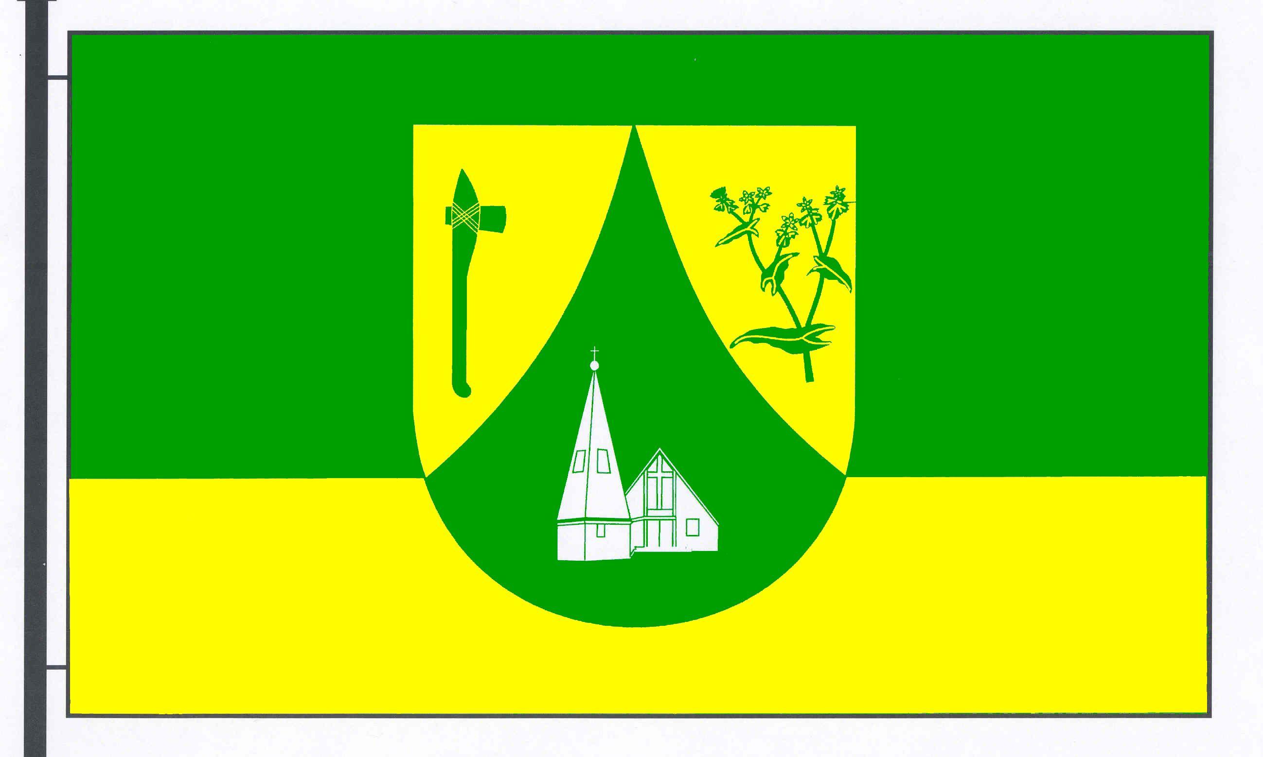 Flagge GemeindeGnutz, Kreis Rendsburg-Eckernförde