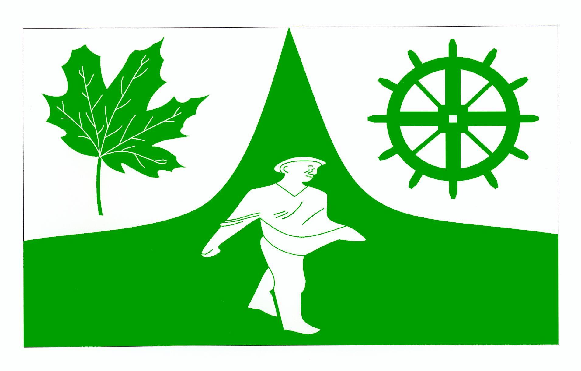 Flagge GemeindeGöldenitz, Kreis Herzogtum Lauenburg