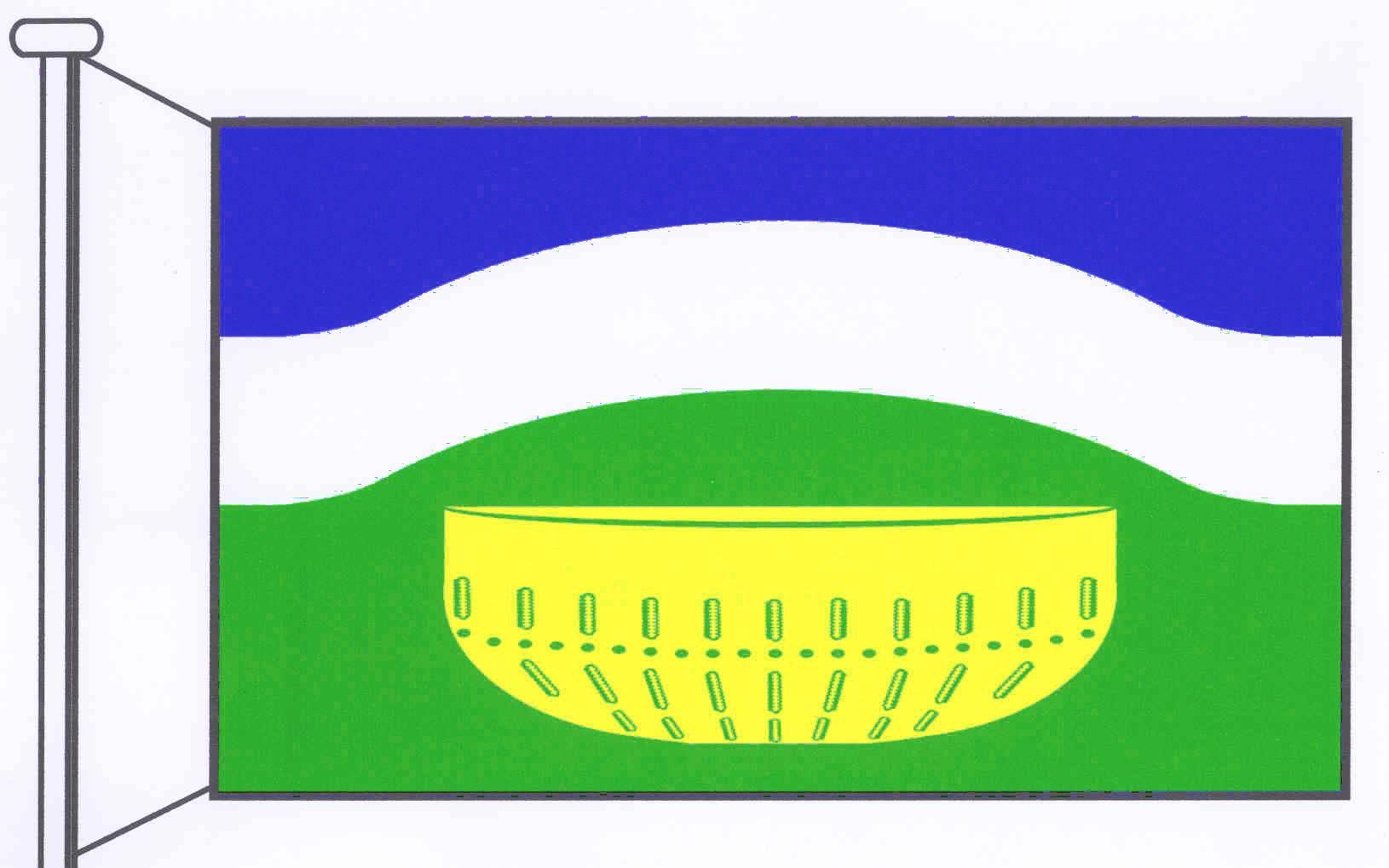 Flagge GemeindeGönnebek, Kreis Segeberg