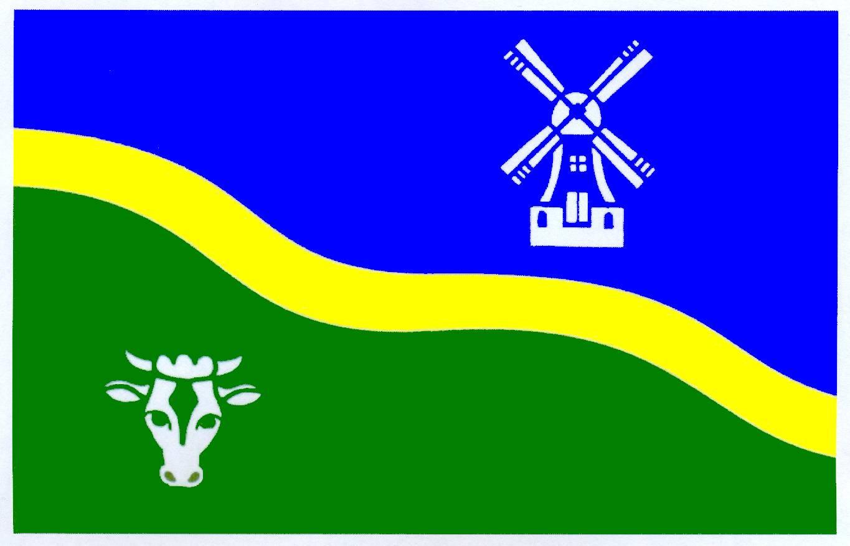 Flagge GemeindeGoldebek, Kreis Nordfriesland