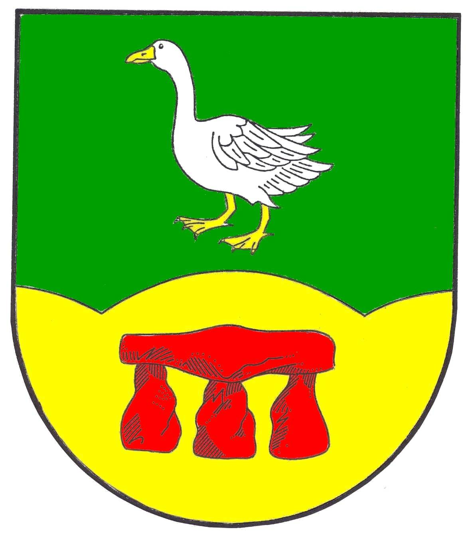 Wappen GemeindeGoosefeld, Kreis Rendsburg-Eckernförde