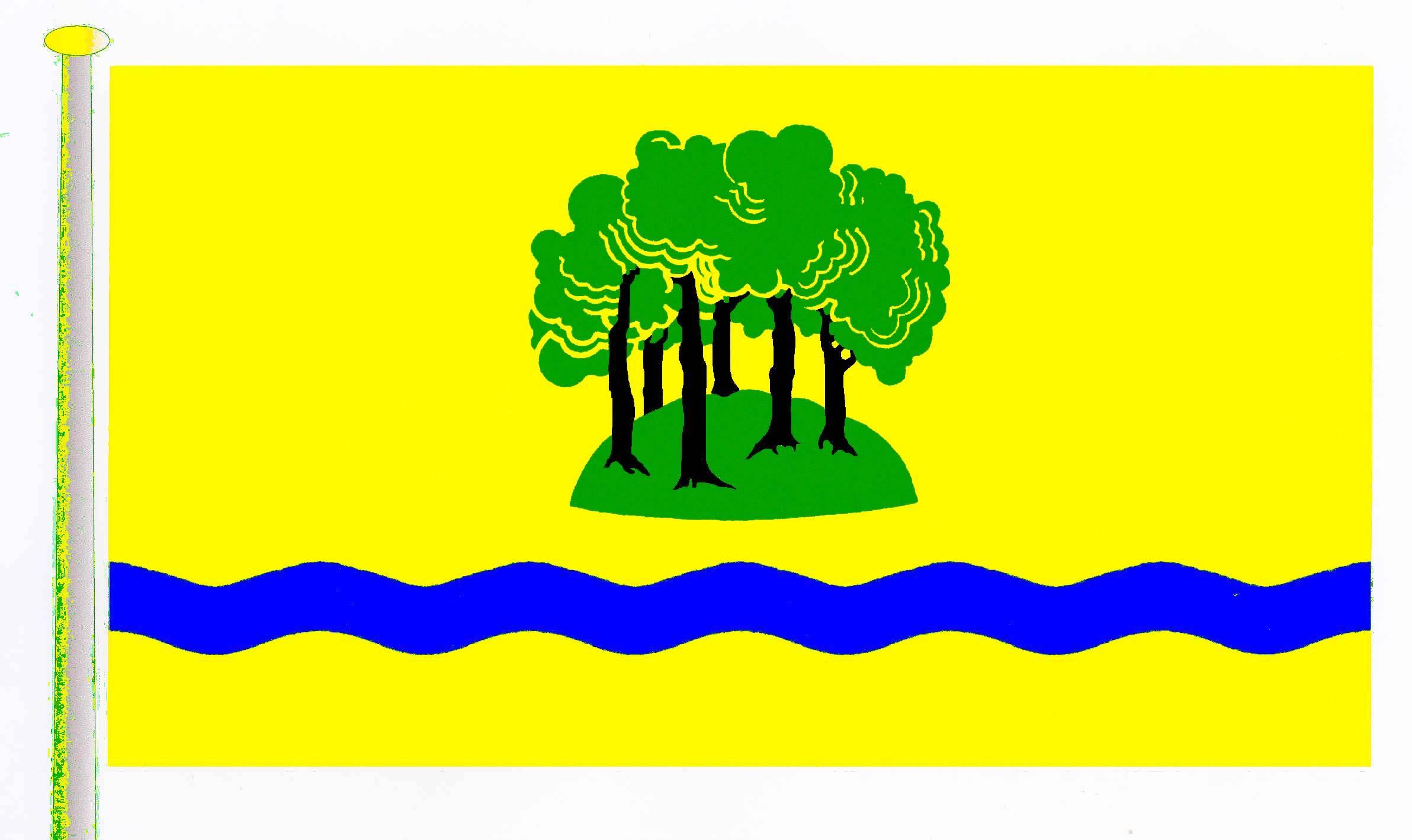 Flagge GemeindeGrabau, Kreis Stormarn