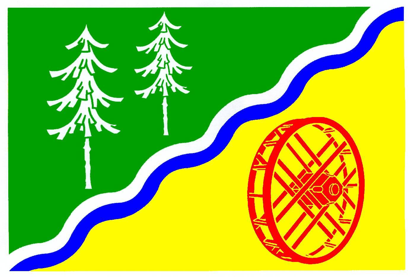 Flagge GemeindeGrande, Kreis Stormarn