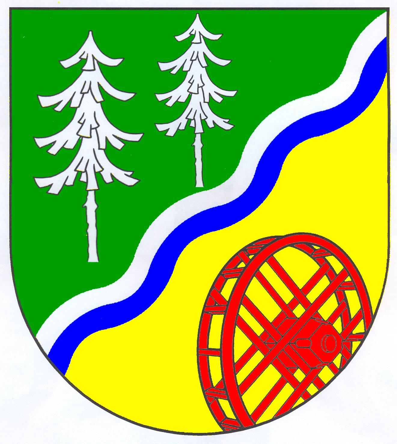 Wappen GemeindeGrande, Kreis Stormarn
