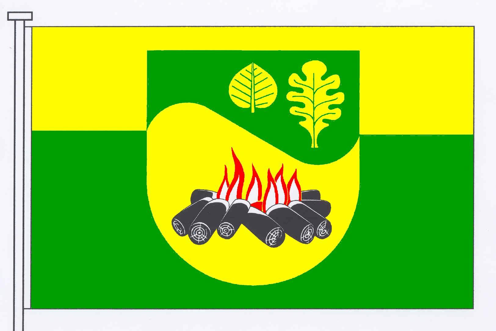 Flagge GemeindeGrauel, Kreis Rendsburg-Eckernförde
