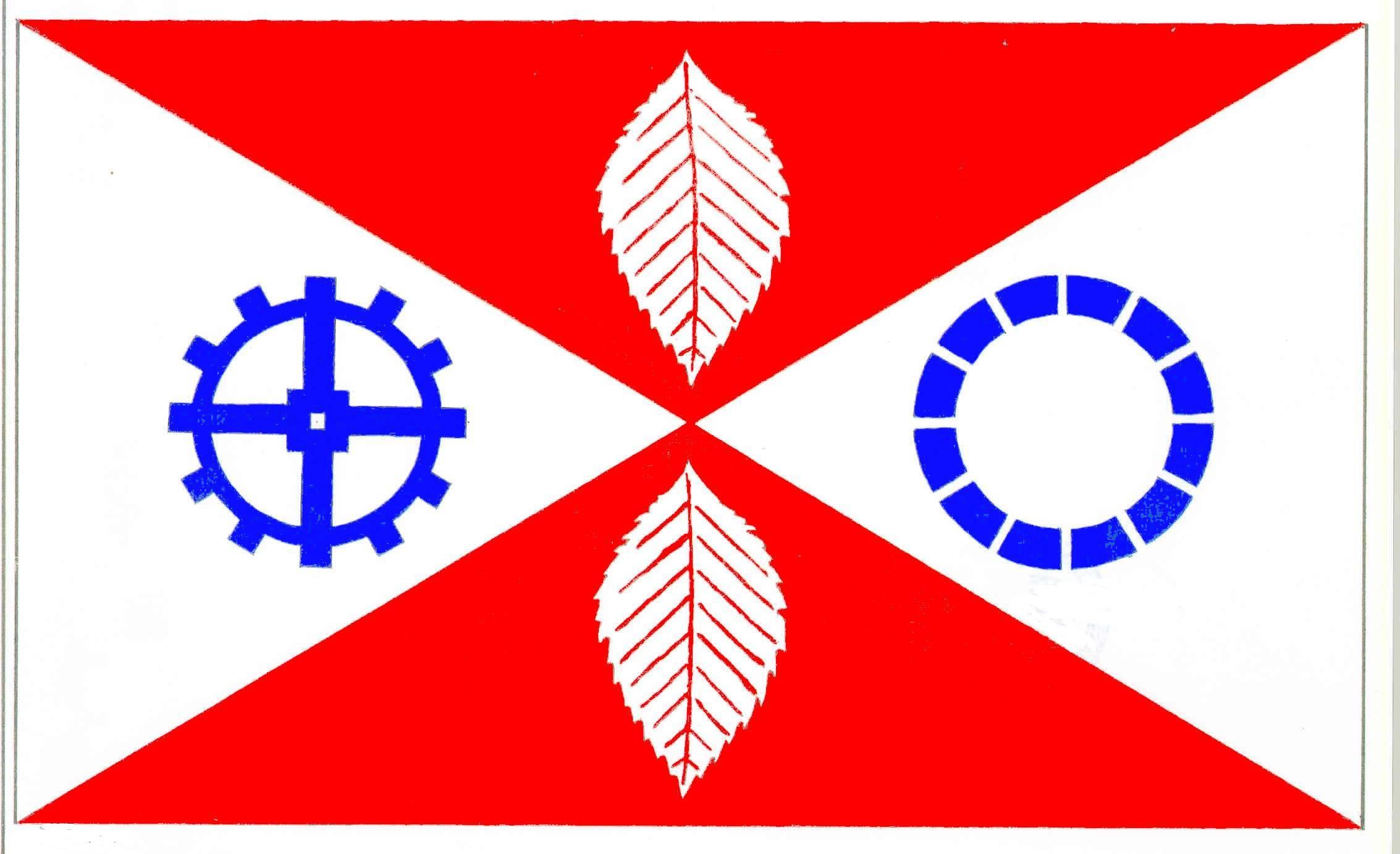 Flagge GemeindeGrebin, Kreis Plön