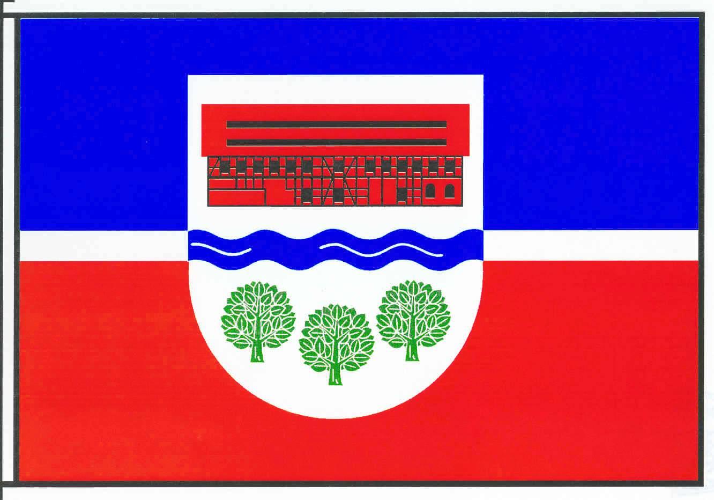 Flagge GemeindeGrönwohld, Kreis Stormarn