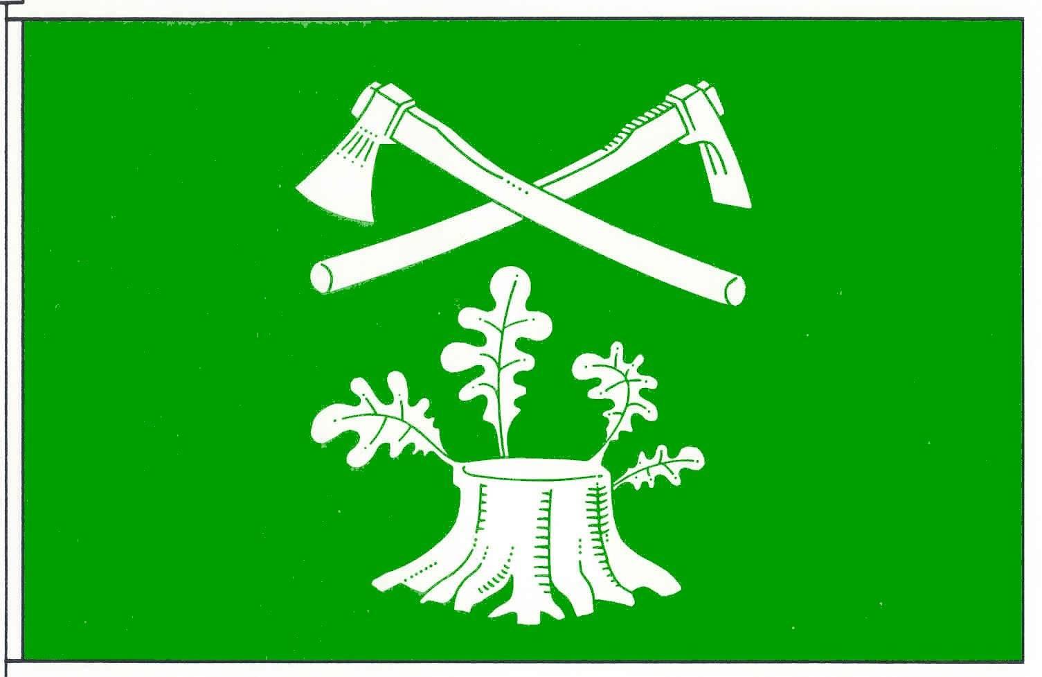 Flagge GemeindeGroßenrade, Kreis Dithmarschen