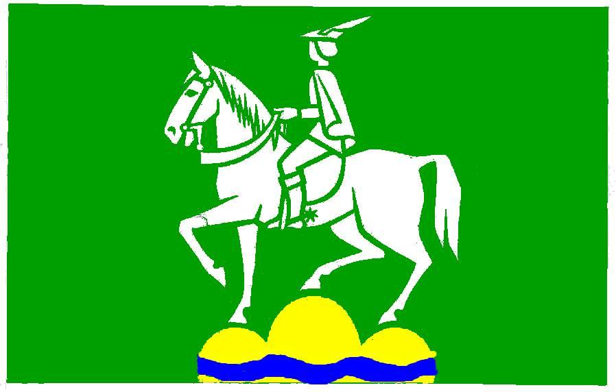 Flagge GemeindeGroßhansdorf, Kreis Stormarn