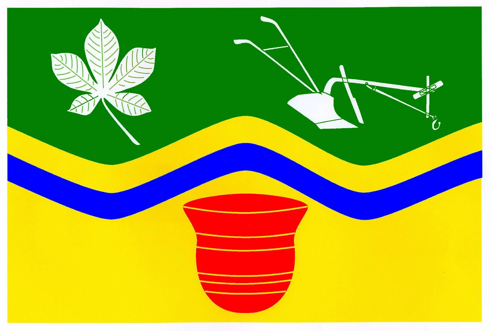 Flagge GemeindeGrove, Kreis Herzogtum Lauenburg