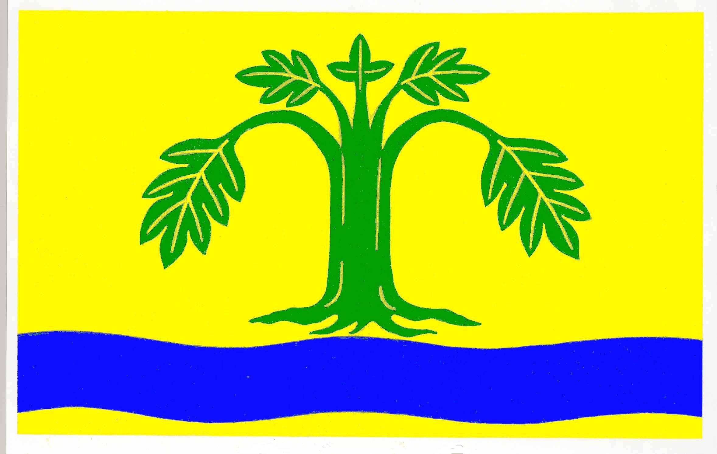 Flagge GemeindeGrube, Kreis Ostholstein