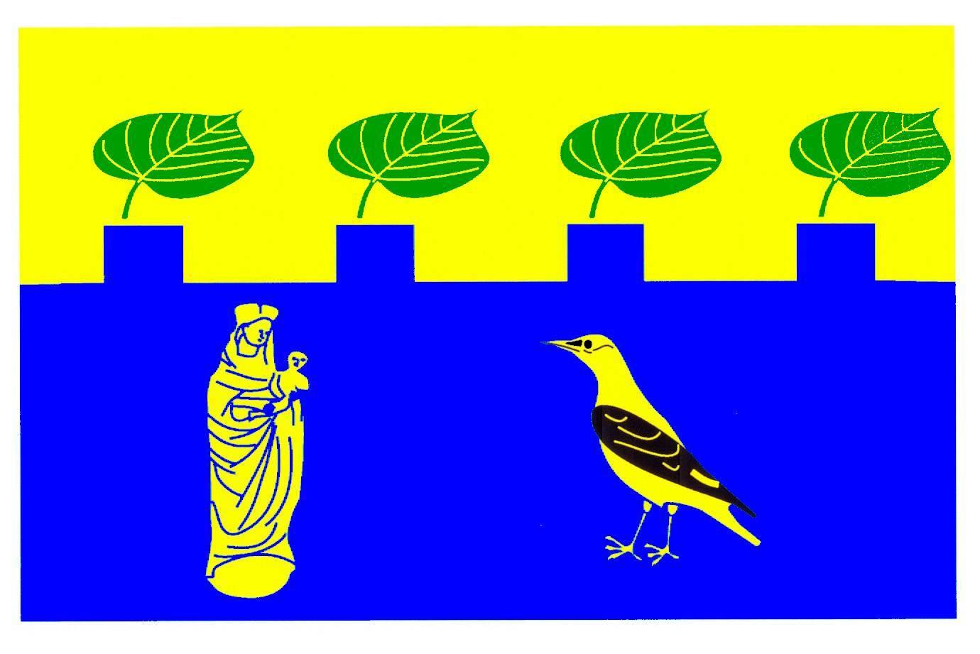 Flagge GemeindeGudow, Kreis Herzogtum Lauenburg