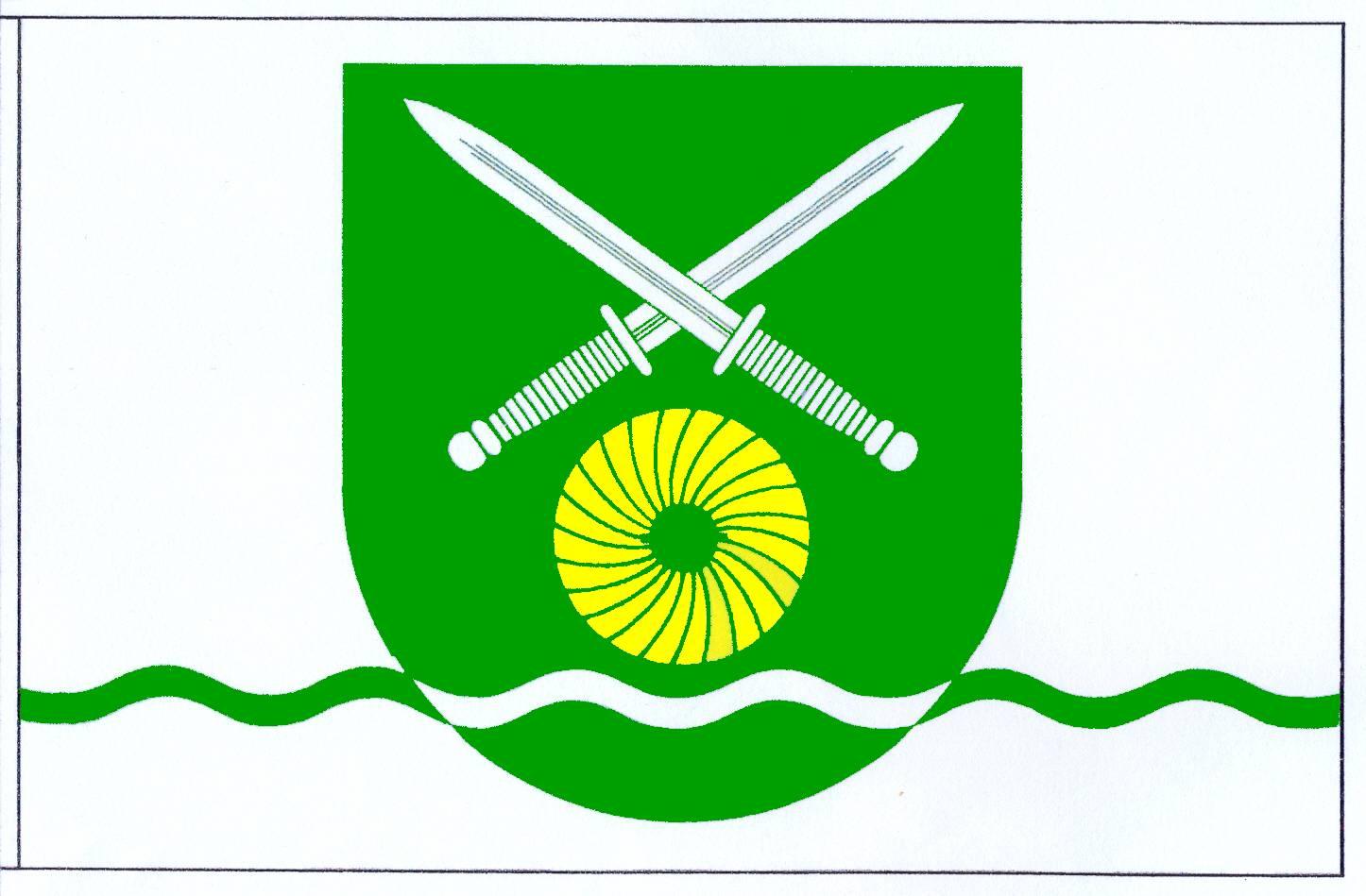 Flagge GemeindeHadenfeld, Kreis Steinburg
