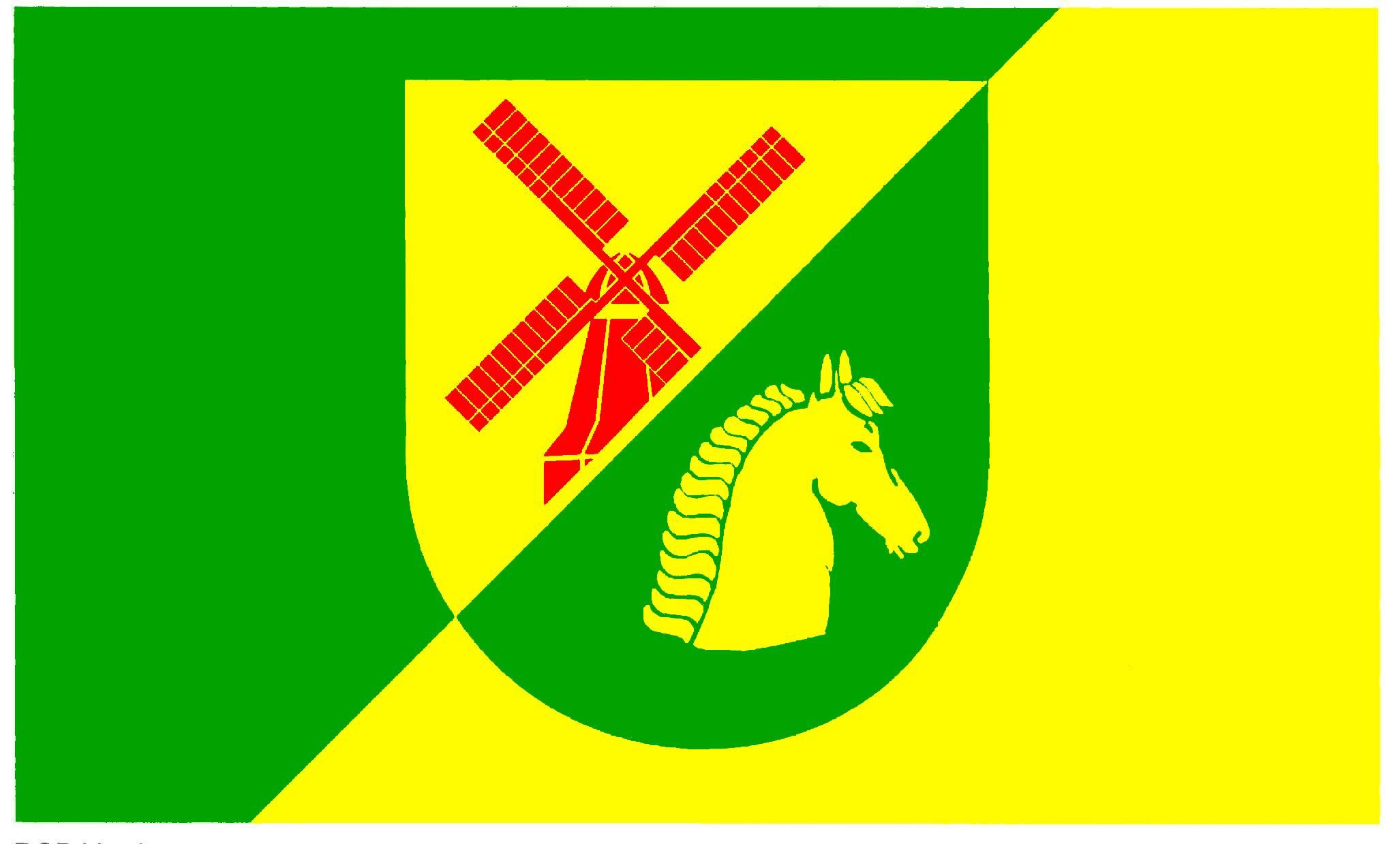 Flagge GemeindeHamwarde, Kreis Herzogtum Lauenburg
