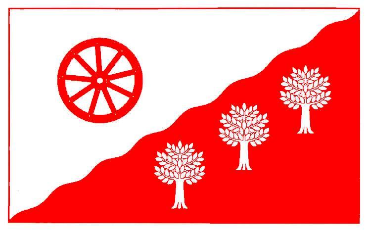 Flagge GemeindeHamweddel, Kreis Rendsburg-Eckernförde