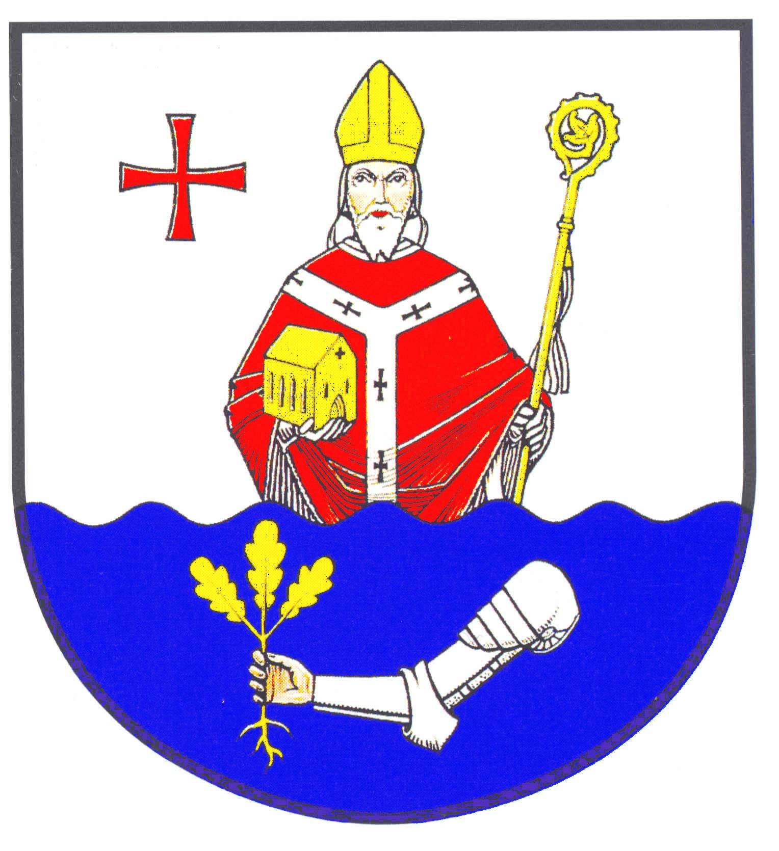 Wappen GemeindeHanerau-Hademarschen, Kreis Rendsburg-Eckernförde