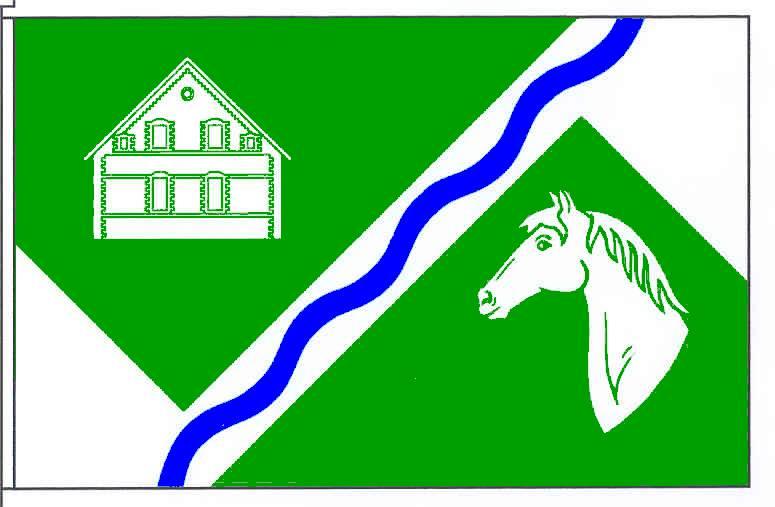 Flagge GemeindeHardebek, Kreis Segeberg