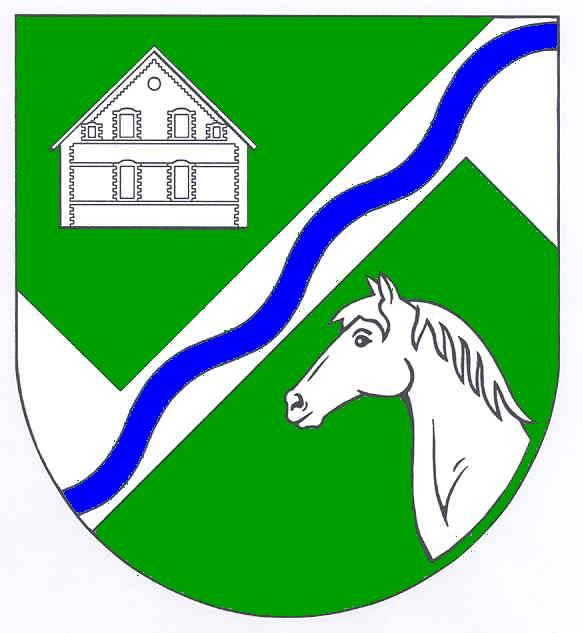 Wappen GemeindeHardebek, Kreis Segeberg