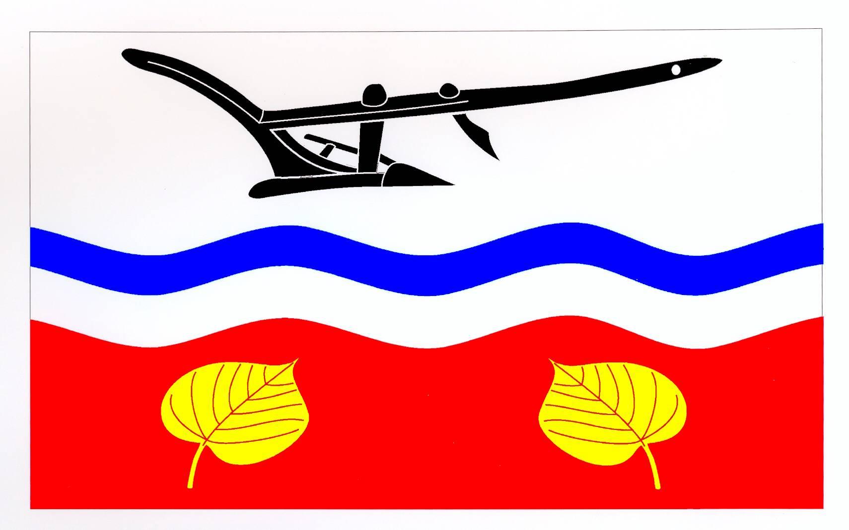 Flagge GemeindeHarmsdorf, Kreis Herzogtum Lauenburg