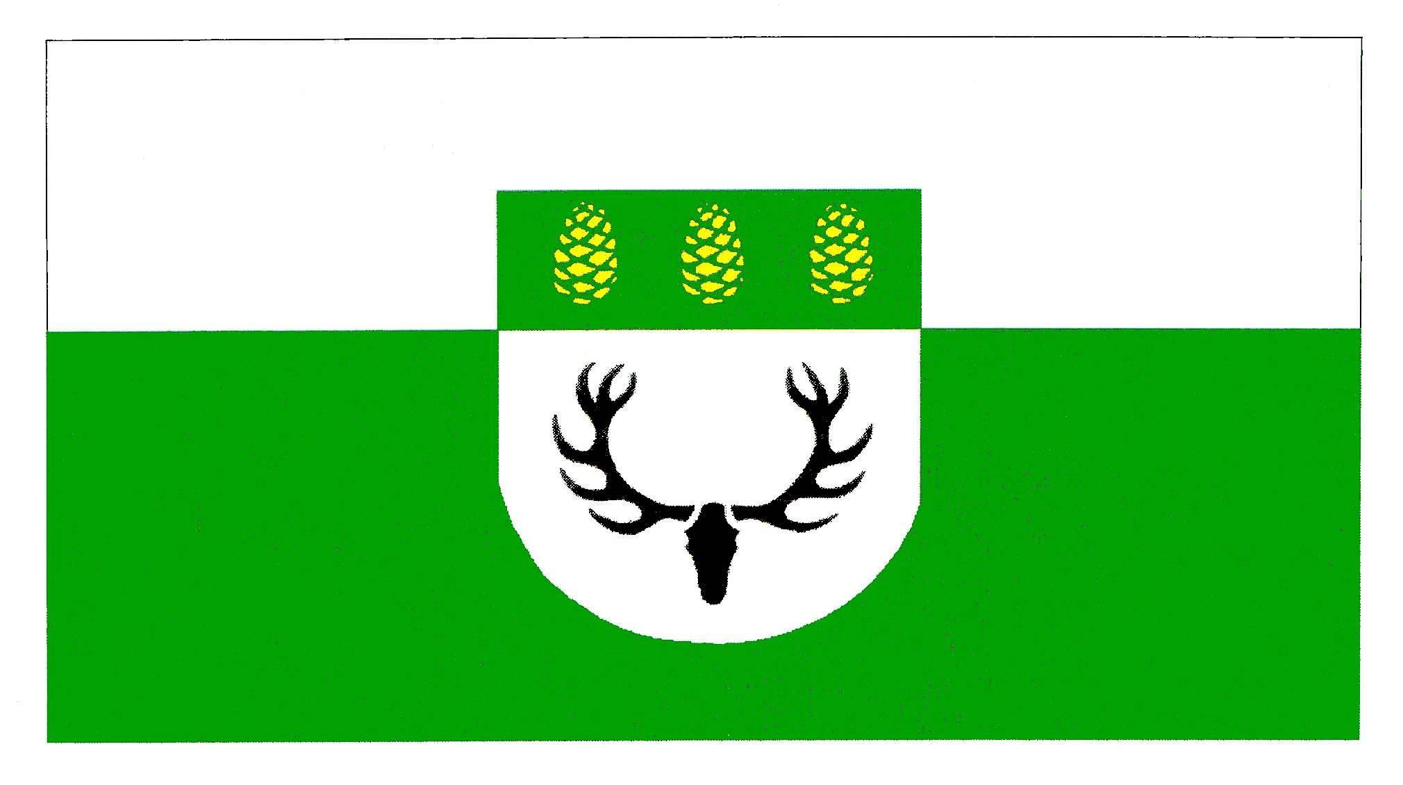 Flagge GemeindeHartenholm, Kreis Segeberg