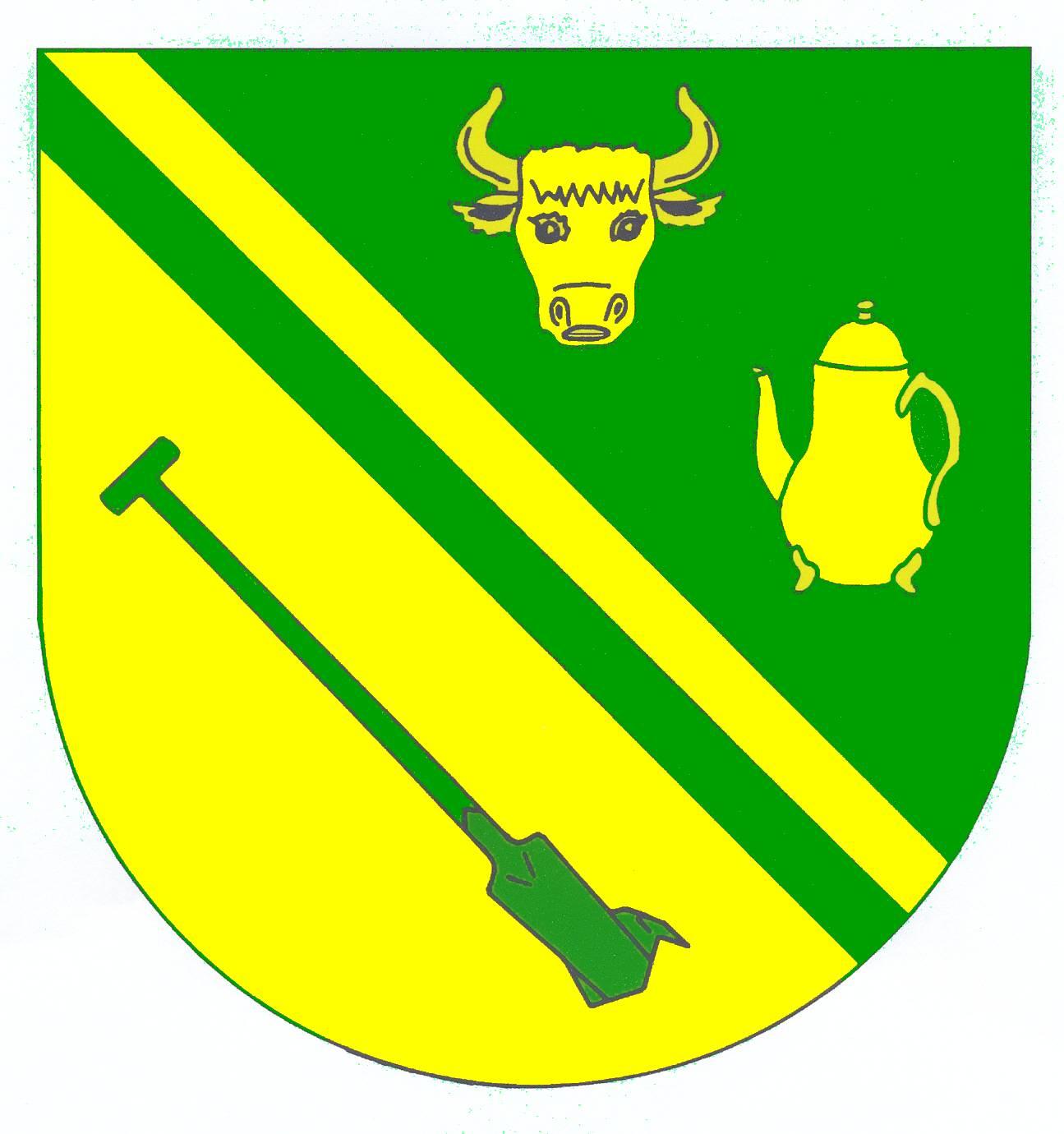 Wappen GemeindeHaselund, Kreis Nordfriesland