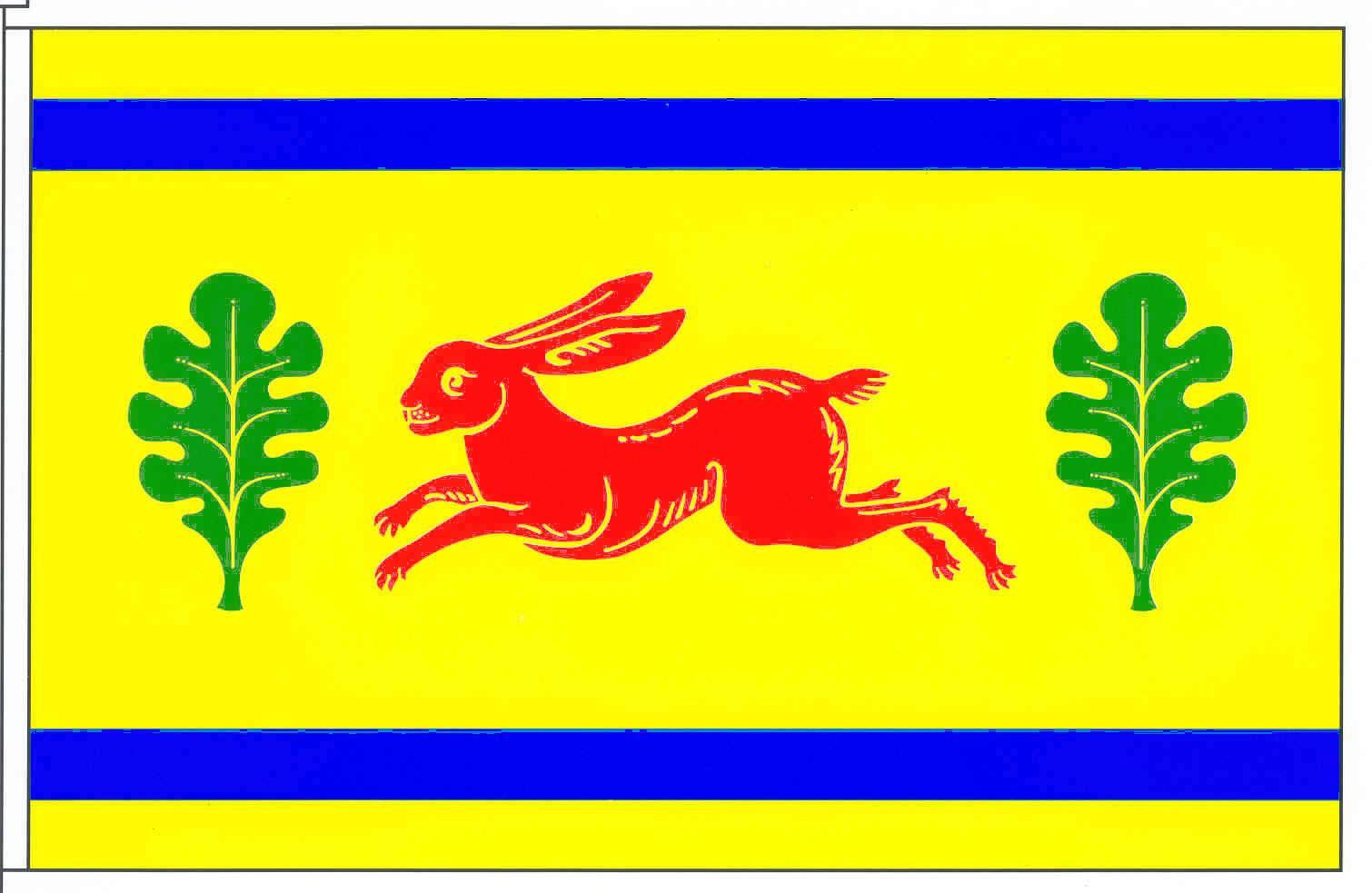 Flagge GemeindeHasenkrug, Kreis Segeberg
