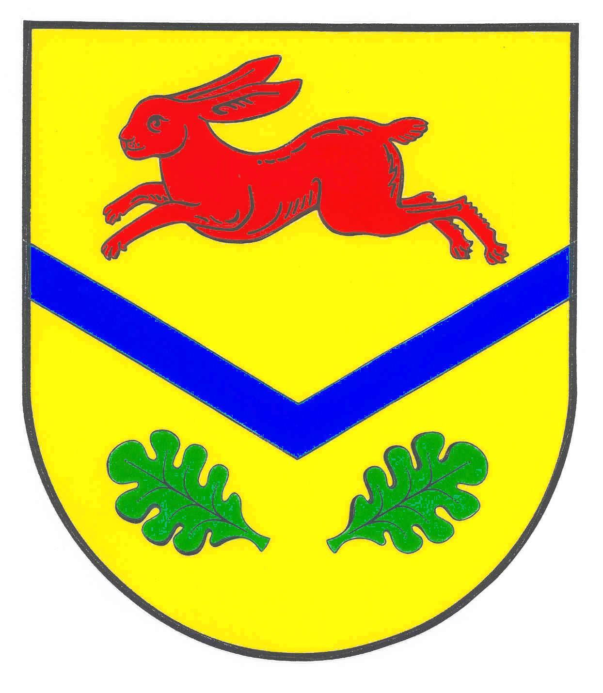 Wappen GemeindeHasenkrug, Kreis Segeberg