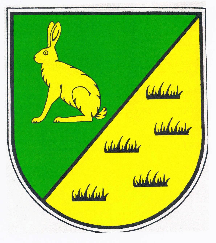Wappen GemeindeHasenmoor, Kreis Segeberg
