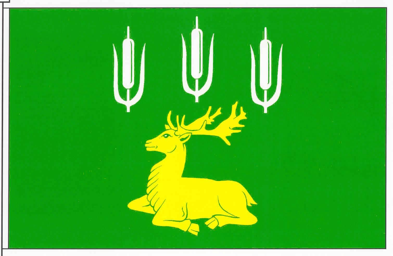 Flagge GemeindeHaßmoor, Kreis Rendsburg-Eckernförde