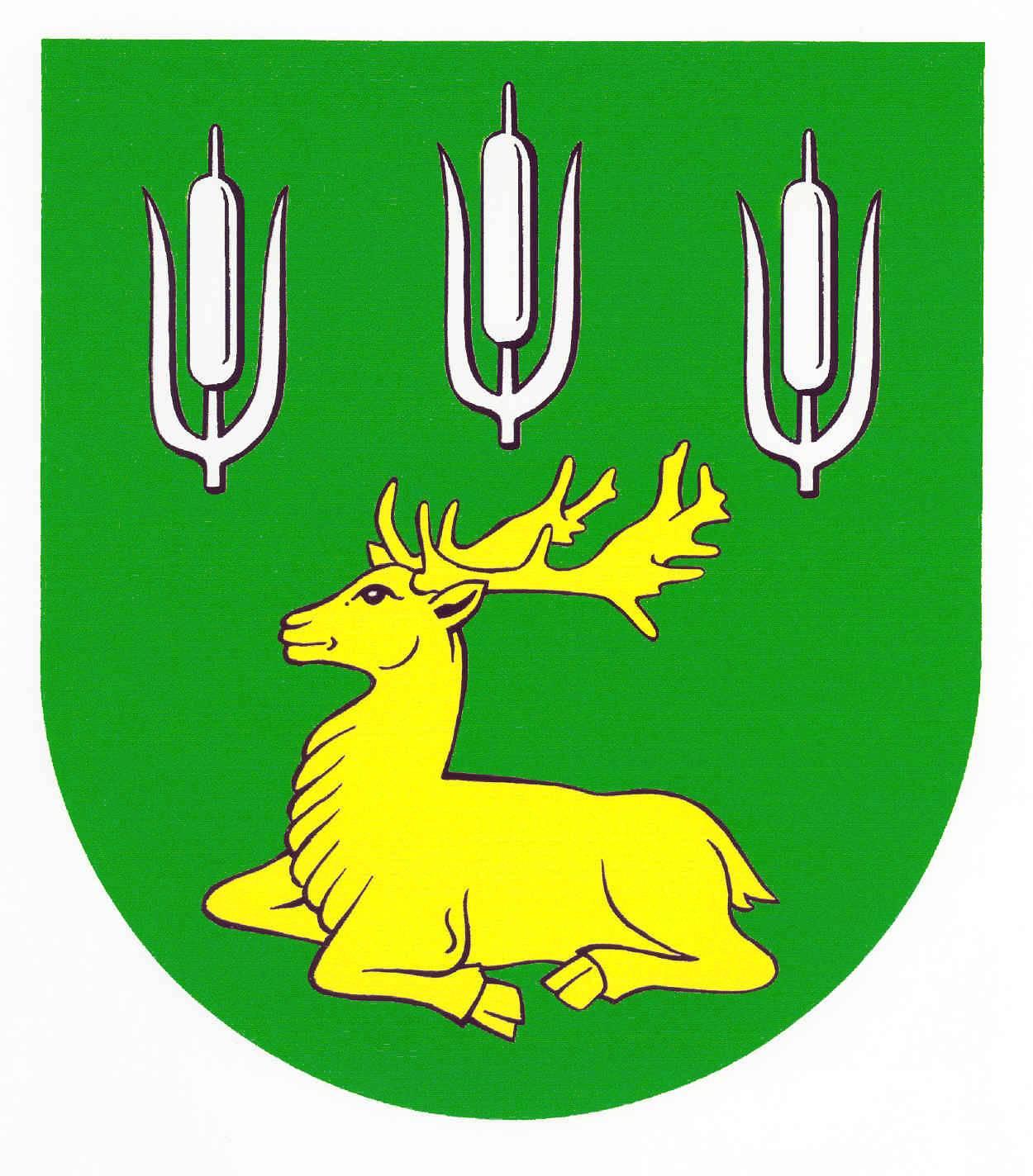 Wappen GemeindeHaßmoor, Kreis Rendsburg-Eckernförde