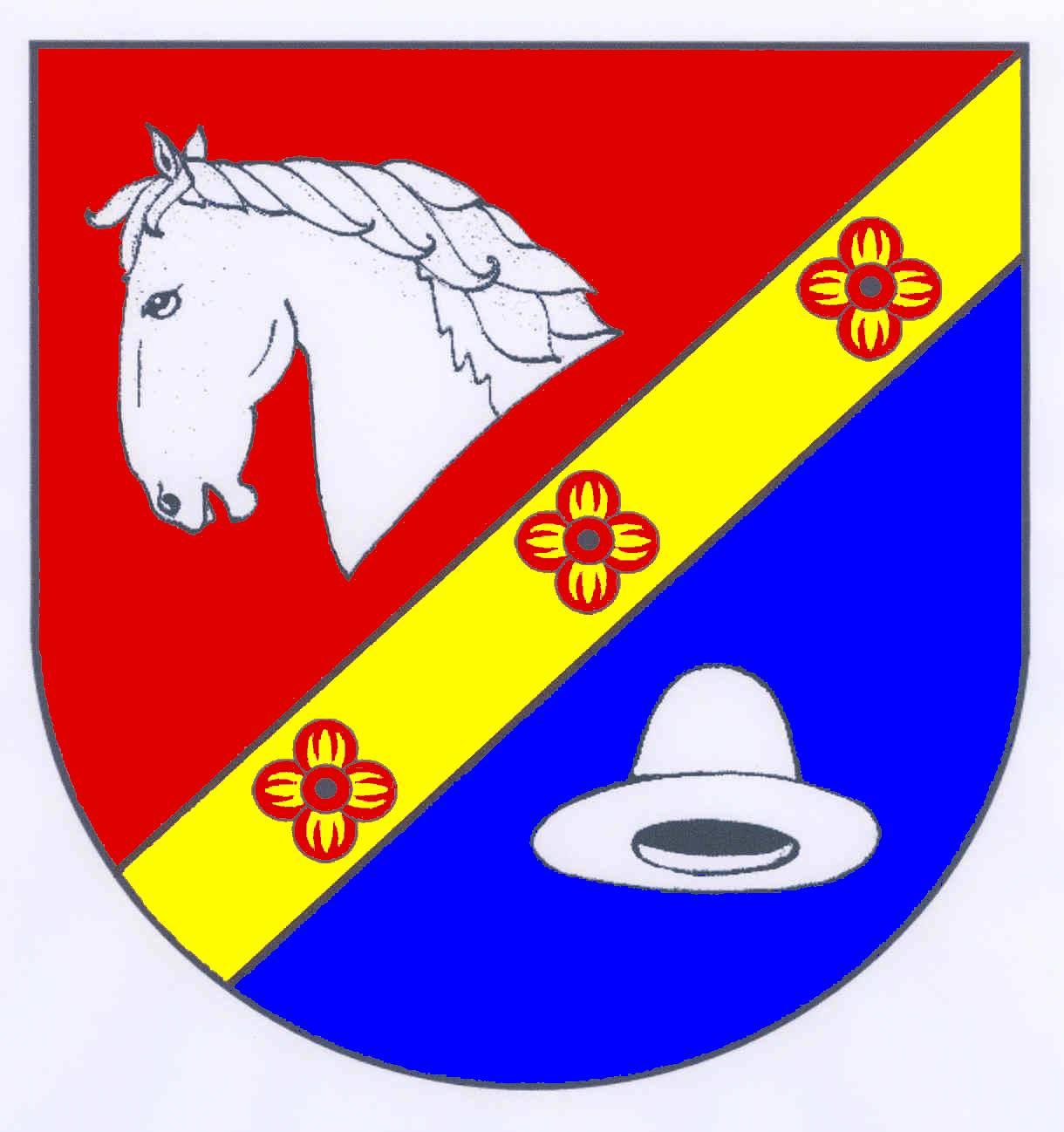 Wappen GemeindeHattstedt, Kreis Nordfriesland