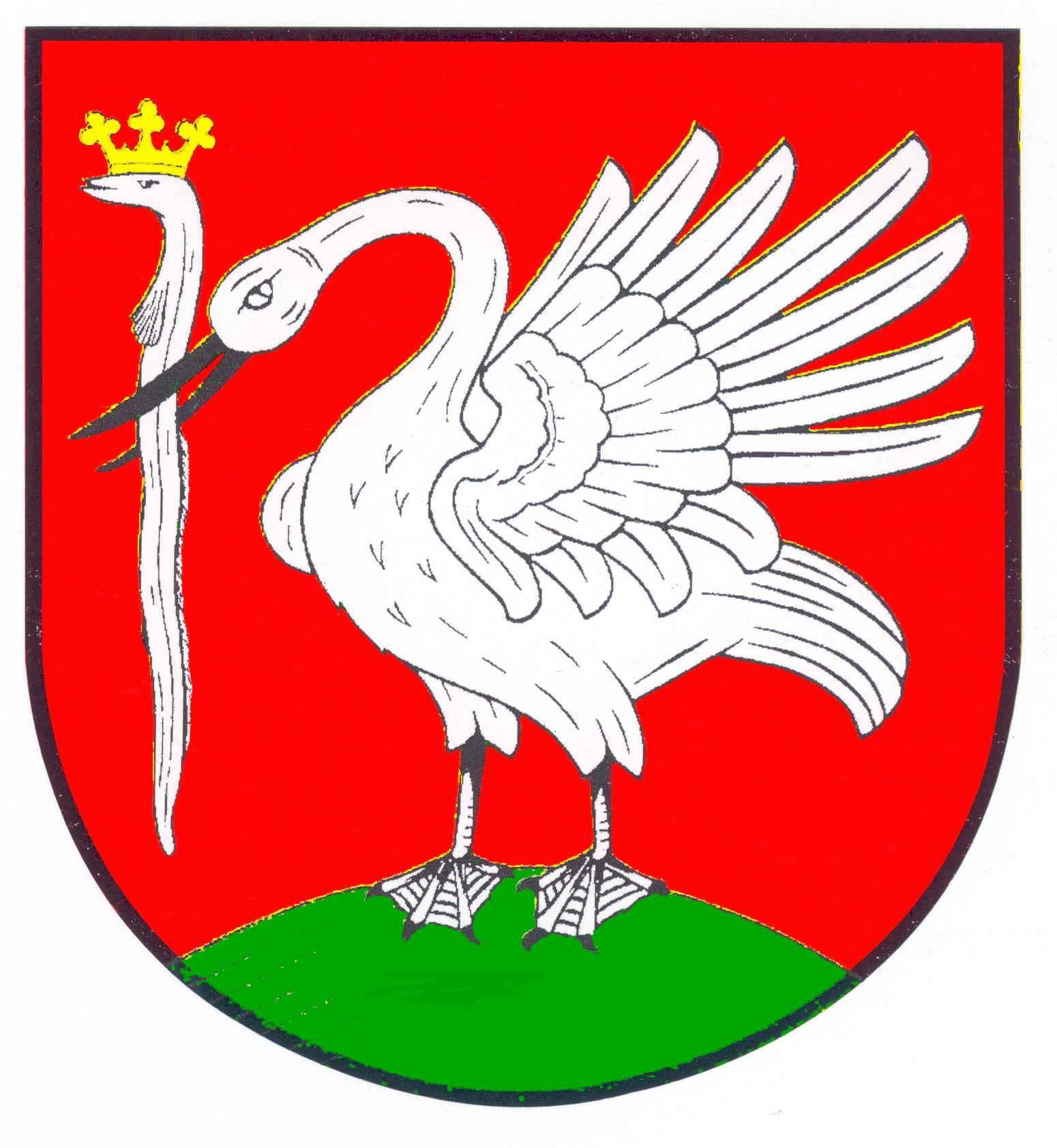 Wappen GemeindeHedwigenkoog, Kreis Dithmarschen