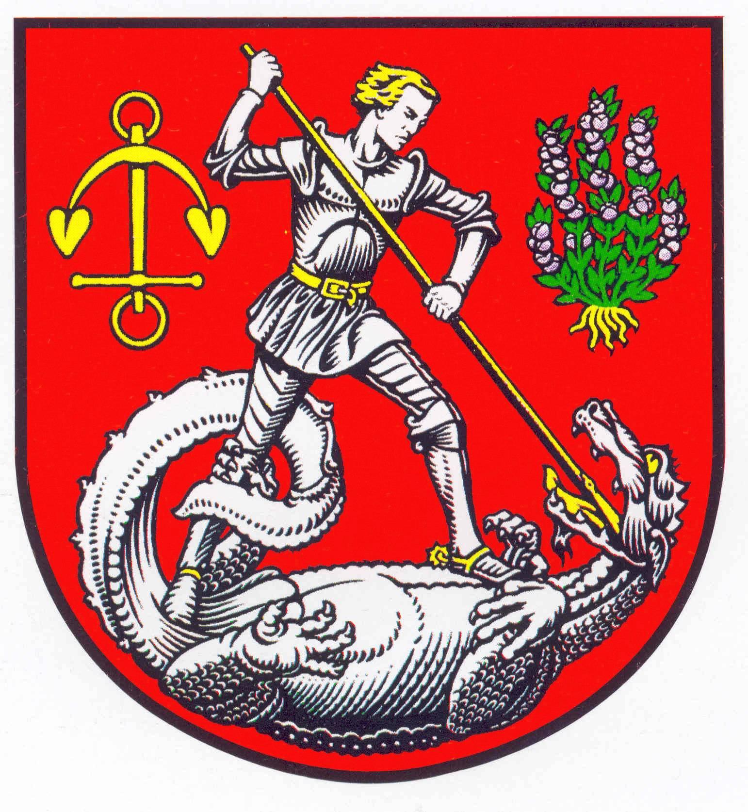 Wappen StadtHeide, Kreis Dithmarschen