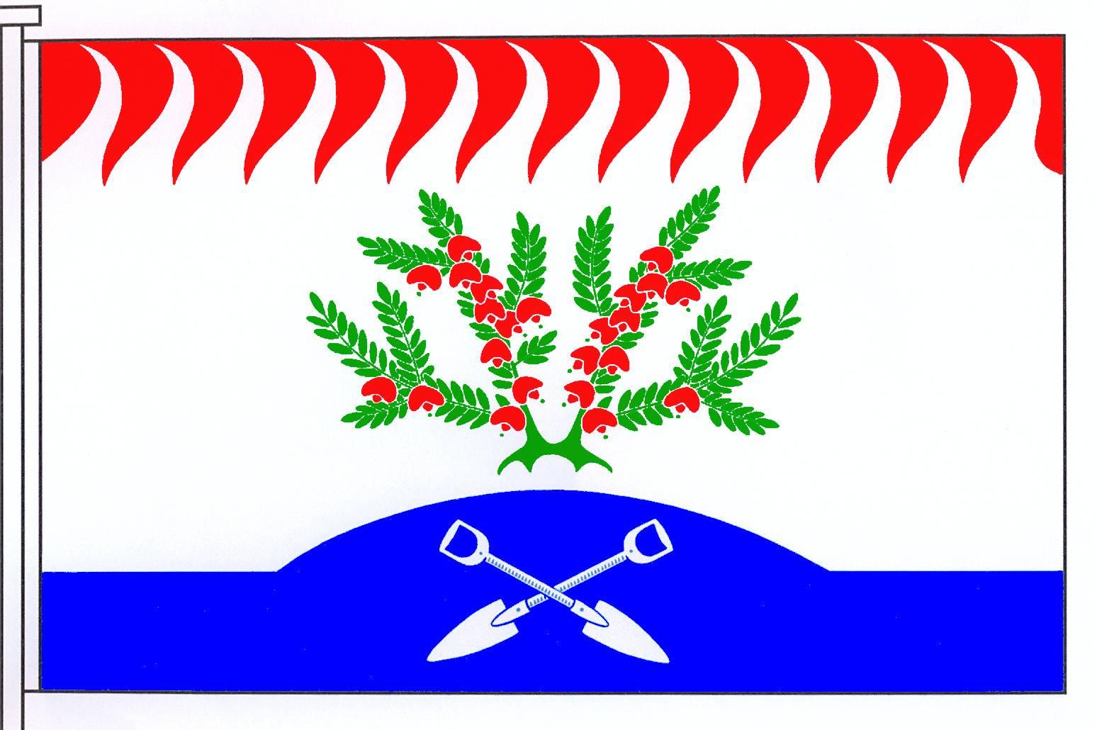 Flagge GemeindeHeidmoor, Kreis Segeberg