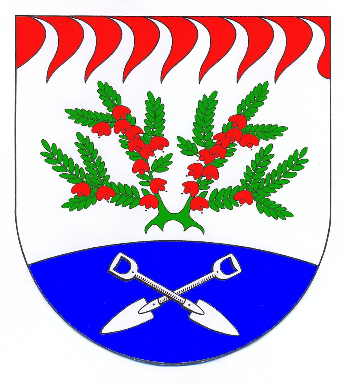 Wappen GemeindeHeidmoor, Kreis Segeberg