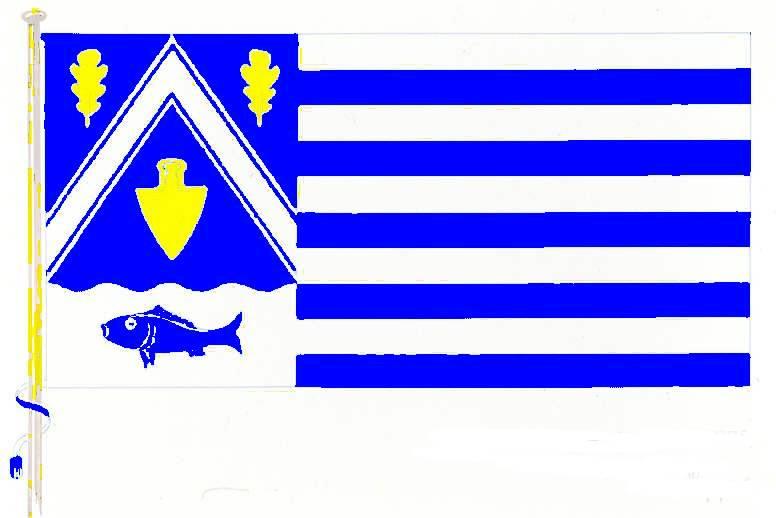 Flagge GemeindeHeikendorf, Kreis Plön