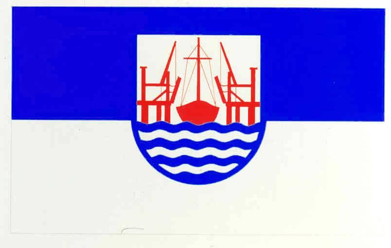 Flagge GemeindeHeiligenstedten, Kreis Steinburg